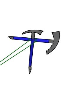 crossed axes