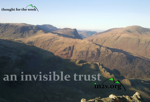 mountaineering and an invisible trust